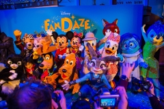 Disney Figuren beim FanDaze Event