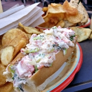 Lobster Roll vom Harbour House