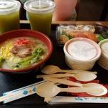 2 Menüs im Japan-Pavillon in Epcot
