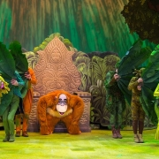 King Louie und Hofstaat bei Forest of Enchantment