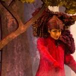 Mimik und Kostüm bilden bei den Waldwesen eine Einheit