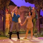 Eine der berühmtesten Szenen aus Pocahontas