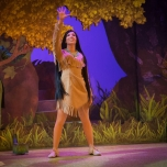 Pocahontas bekannte Pose