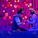 Finale der Rapunzel Szene bei Forest of Enchantment