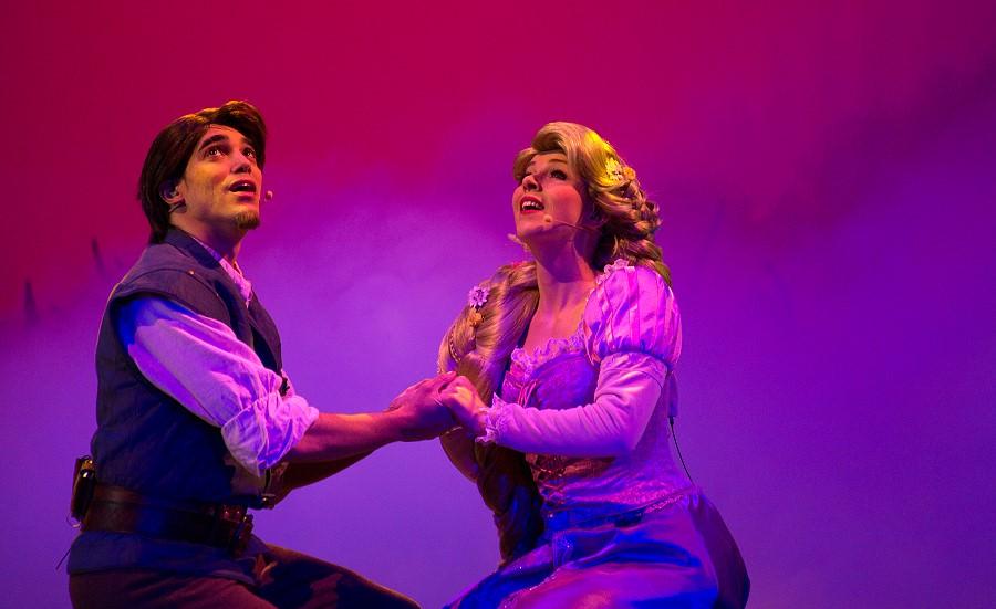 La Foret de l'Enchantement mit Rapunzel und Flynn