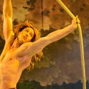 Akrobatik an der Liane