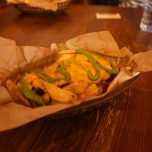 Loaded Fries im Fuente del Oro