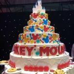Mickeys Geburtstagskuchen