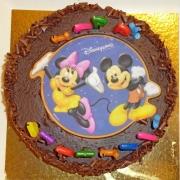 Geburtstagstorte mit Mickey & Minnie