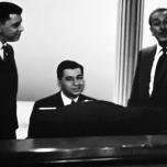 Walt Disney mit den Sherman Brothers