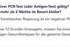 Wie lange ist ein negativer Corona Test gültig?