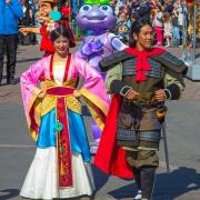 Mulan und Li Shang