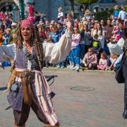 Jack Sparrow im Disneyland Paris