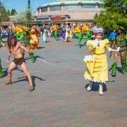 Tarzan und Jane im Disneyland
