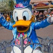 Donald Duck im Disneyland Paris