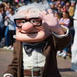 Carl Fredricksen aus Disneys' Film