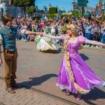 Rapunzel und Flynn Rider