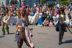 Jack Sparrow im Disneyland Paris