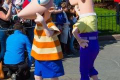 Phineas & Ferb im Disneyland Paris