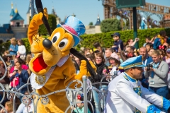 Pluto im Disneyland Paris