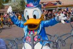Donald Duck im Disneyland Paris
