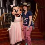 Treffen mit Minnie Mouse