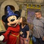 Treffen mit Mickey Mouse