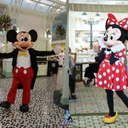 Hong Kong Disneyland Minnie und Mickey Mouse