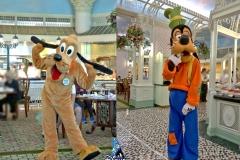 Hong Kong Disneyland - Pluto und Goofy