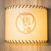 Neue Wandlampe mit Woody aus Toy Story