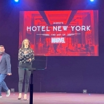 Hotel New York - The Art of Marvel InsidEars Präsentation
