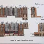 Bauzeichnungen der Fassaden des Hotel New York