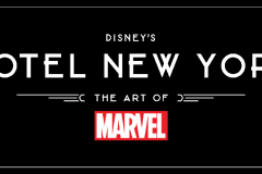 Das Logo des Hotel New York - The Art of Marvel
