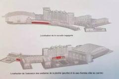 Bauliche Veränderungen beim Umbau des Hotels