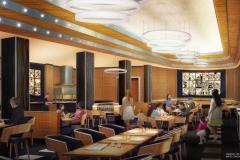 Concept Art zur Neuthematisierung des Parkside Diner