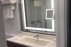 Ein weiterer Blick in das Bad der neuen Hotel New York Marvel Zimmer