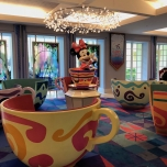Die Lobby ist im Fantasyland Stil eingerichtet