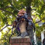 Dekoration für Nightmare before Christmas Layover bei Haunted Mansion