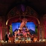 Singende Bären in Disney World