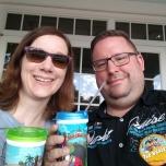 Hotel Mugs im Old Key West