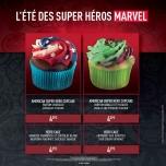 Wie wäre es mit leckeren Superhelden Cupcakes?