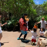 Goofy im Resort