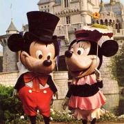Mickey und Minnie frühe 1960er Jahre