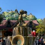 Mickeys Brunnen