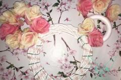 Minnie Mouse Türkranz Schritt 4: Mehr Blumen