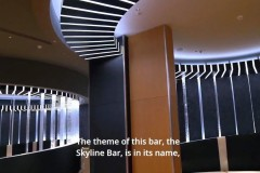 Ein weiterer Einblick in die Skyline Bar