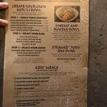 Speisekarte Essen