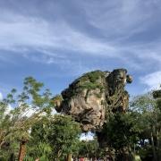 schwebender Felsen auf Pandora