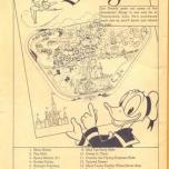 Welcome to Disneyland - Karte mit Donald