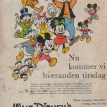 Donald Duck in Disneyland - dänische Version